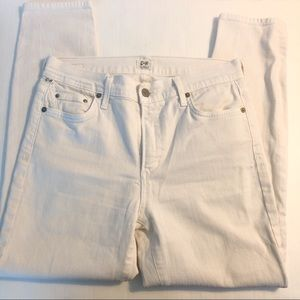 Citizens of Humanity skinny white jeans